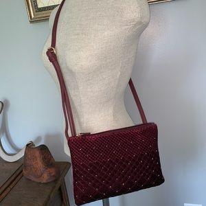 Vintage Velvet Strap Purse